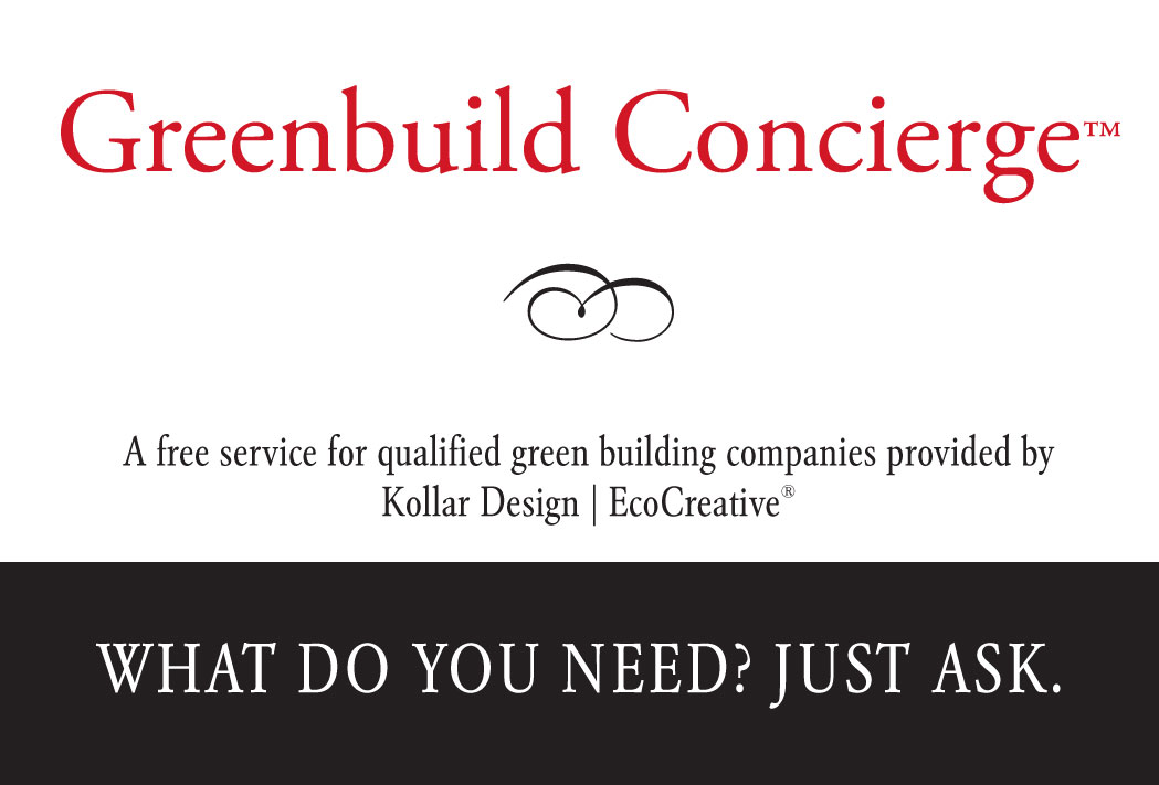 Greenbuild Concierge™ – At your service