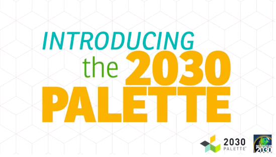How to design our way out of our climate problems: 2030 Palette. Now live, and FREE.
